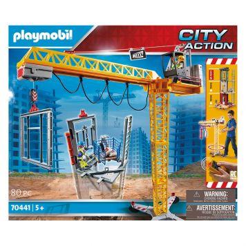 Playmobil 70441 R/C Bouwkraan Met Bouwsel