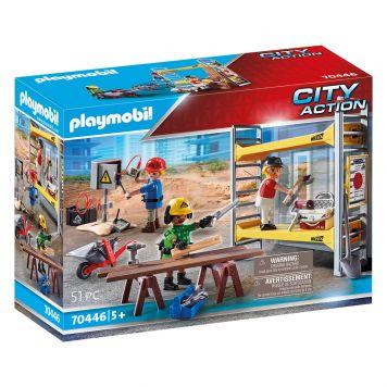 Playmobil 70446 Stelling Met Bouwvakkers
