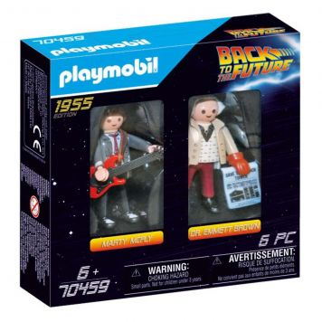 Playmobil 70459 DuoPack Marty McFly & Dr. Emmet Brown