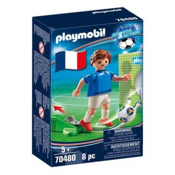 Playmobil 70480 Nationale Voetbalspeler Frankrijk