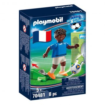 Playmobil 70481 Nationale Voetbalspeler Frankrijk B