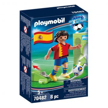 Playmobil 70482 Nationale Voetbalspeler Spanje