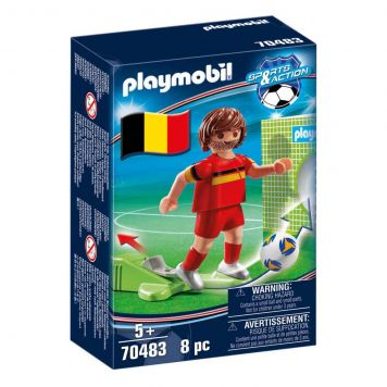 Playmobil 70483 Nationale Voetbalspeler België