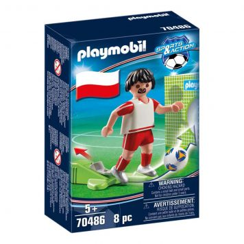 Playmobil 70486 Nationale Voetbalspeler Polen