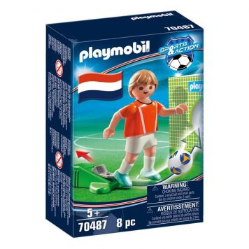 Playmobil 70487 Nationale Voetbalspeler Nederland