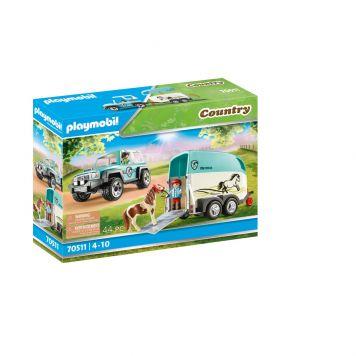 Playmobil 70511 Country Auto Met Aanhanger