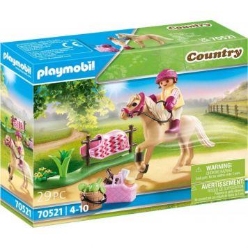 Playmobil 70521 Collectie Pony Duitse Rijpony