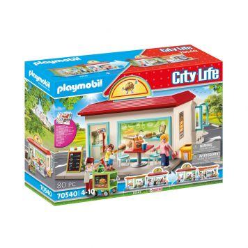 Playmobil 70540 City Mijn Hamburgertent