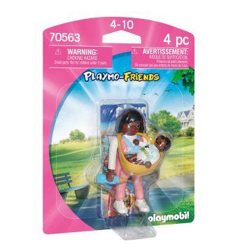 Playmobil 70563 Mama Met Draagzak