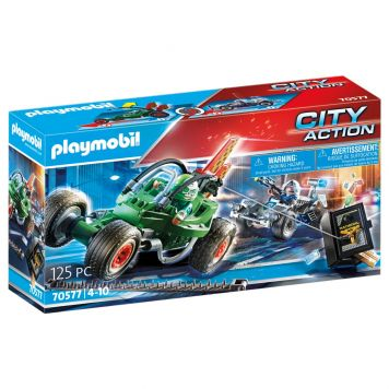 Playmobil 70577 Politiekart: Achtervolging Van  De Kluisrover