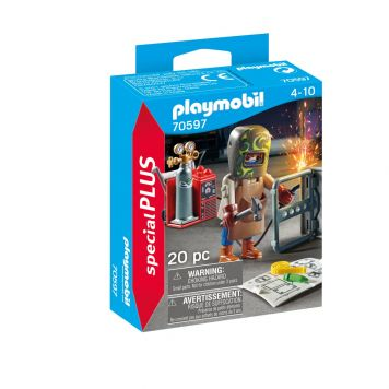 Playmobil 70597 Lasser Met Uitrusting