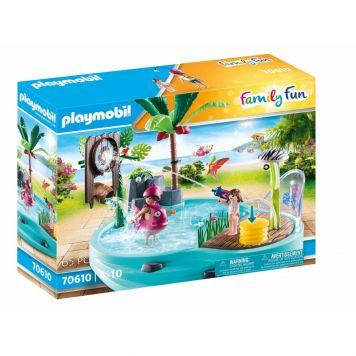 Playmobil 70610 Leuk Zwembad Met Watersplash