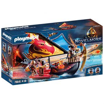 Playmobil 70641 Novelmore Burnham Raiders  Vuurschip