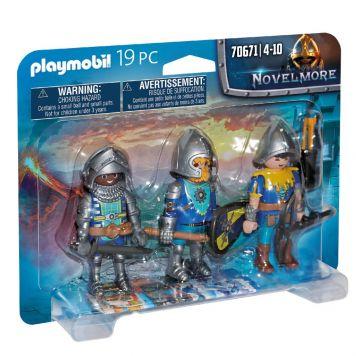 Playmobil 70671 Set Van 3 Novelmore Ridders
