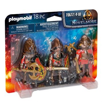 Playmobil 70672 Set Van 3 Burnham Raiders