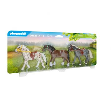 Playmobil 70683 Country 3 Paarden