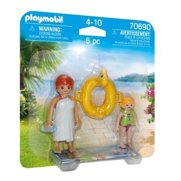 Playmobil 70690 Duopack Waterpark Badgasten