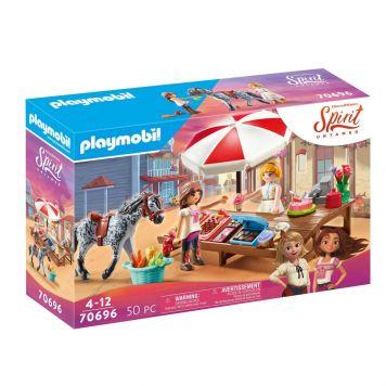 Playmobil 70696 Spirit Miradero Snoepwinkel