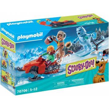Playmobil 70706 Scooby-Doo! Avontuur Met Snow  Ghost