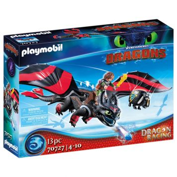 Playmobil 70727 Dragon Racing: Hikkie En Tandloos