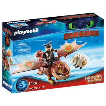 Playmobil 70729 Dragon Racing: Vissenpoot  En Speknekje