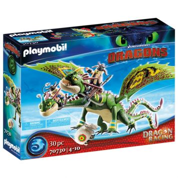 Playmobil 70730 Dragon Racing: Schorrie &  Morrie Met Burp & Braak