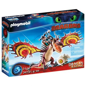 Playmobil 70731 Dragon Racing: Snotvlerk &Haaktand