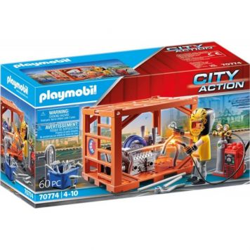 Playmobil 70774 Container Productie