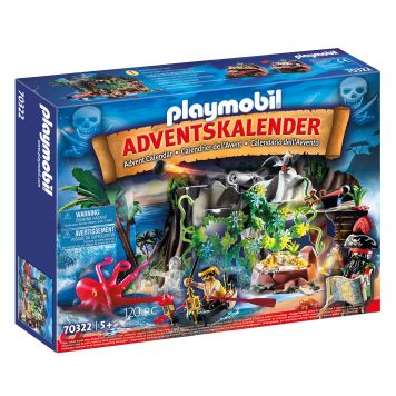 Playmobil 70322 Adventskalender Schattenjacht