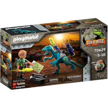 Playmobil 70629 Uncle Rob Bewapenen Voor De Strijd