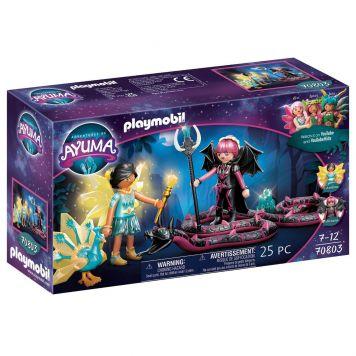 Playmobil 70803 Ayuma Crystal Fairy En Bat Fairy  Met Totemdieren