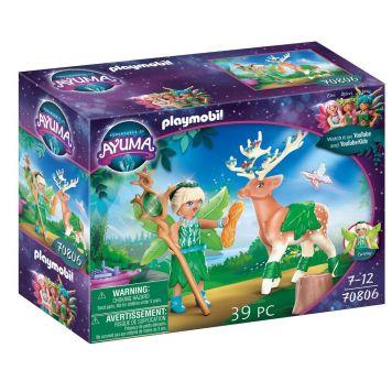 Playmobil 70806 Ayuma Forest Fairy Met Totemdier