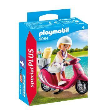 Playmobil 9084 Zomers Meisje Met Scooter