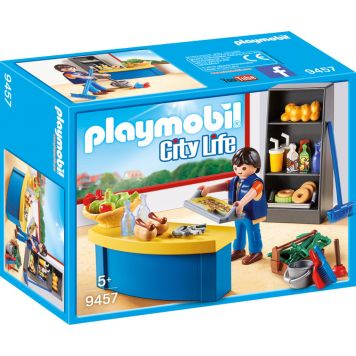 Playmobil 9457 Schoolconcierge Met Kiosk