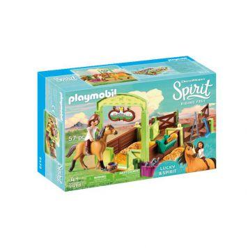 Playmobil 9478 Lucky & Spirit Met Paardenbox