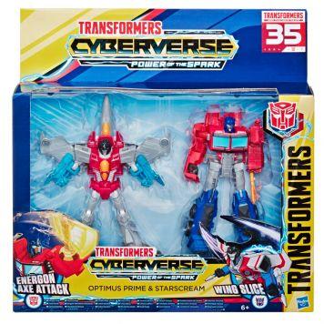 Transformers Optimus & Starcream