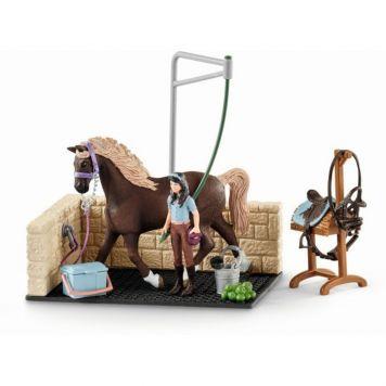 Schleich 42438 Wasplaats Met Paard Emily