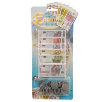 Speelgeld Set Met Munten En Biljetten