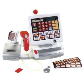 Elektronische Kassa Met Scanner