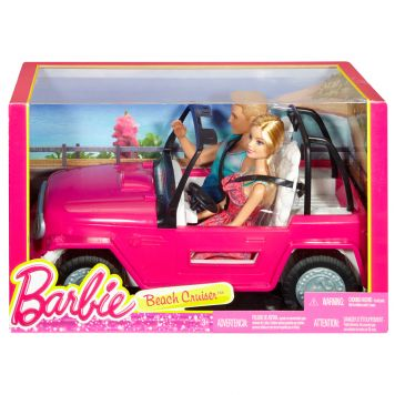 Barbie Beach Cruiser Met Barbie En Ken