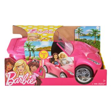 Barbie Auto Exclusief Pop