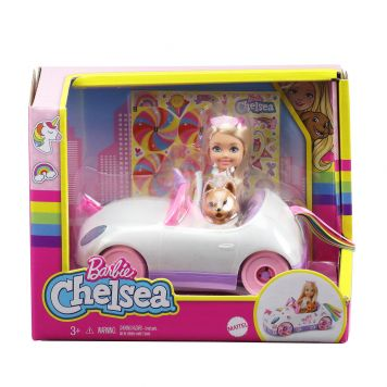 Barbie Chelsea Doll and Car