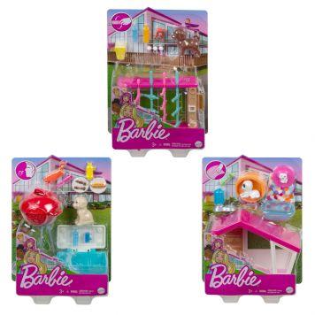 Barbie Mini Playset Met Huisdier Assorti