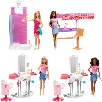 Barbie Room En Doll Asst