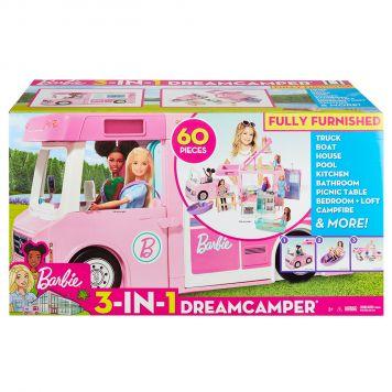 Barbie 3 In 1 Droomcamper En  Accessoires