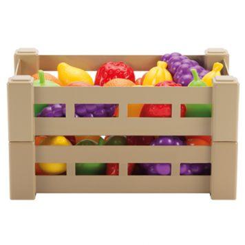 Fruit/Groenten In Krat Assorti