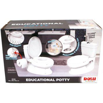 Toilet Educatief Wit