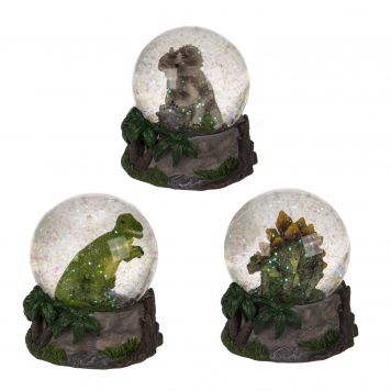Sneeuwbol Dino 3 Assorti