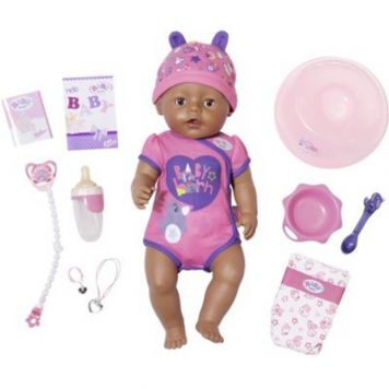 Baby Born Soft Touch Girl Pop (Brown Eyes) 43 Cm