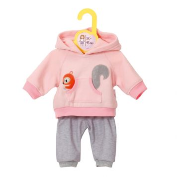 Poppenkleding Dolly Moda Jogging Pink